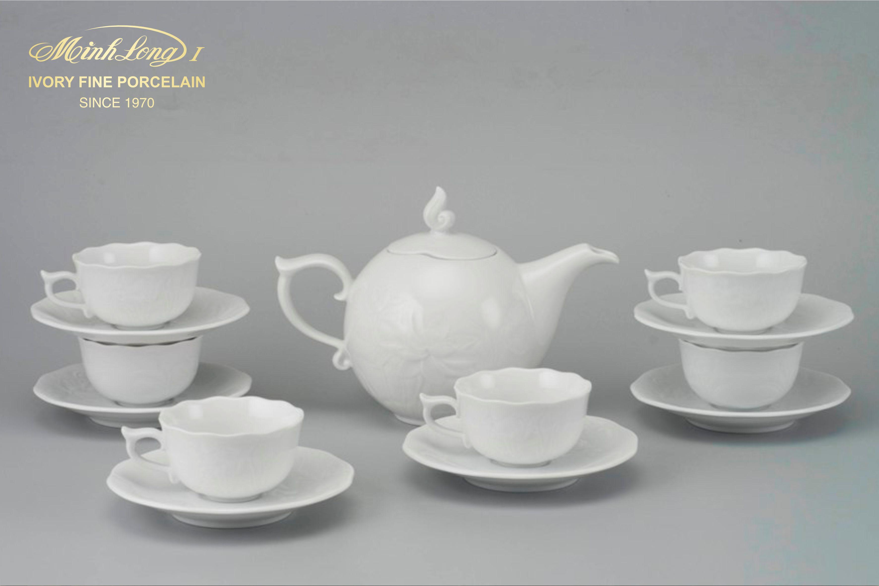 Bộ trà 0.7L SEN IFP Trắng Ngà 68701400003 Minh long