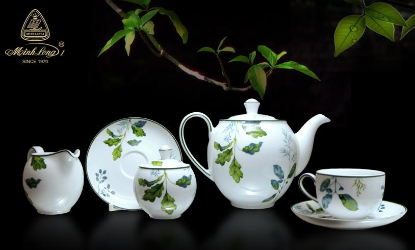 Bộ trà 1.1L Came Lá Xanh 01113819303 Minh Long