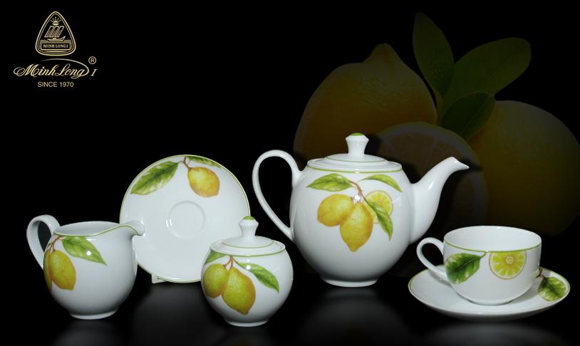 Bộ trà 1.1L Came Quả chanh 01113819403 Minh Long