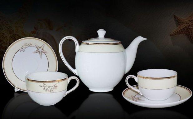 Bộ trà 0.8L Came Hương Biển Kem 01803808903 Minh Long