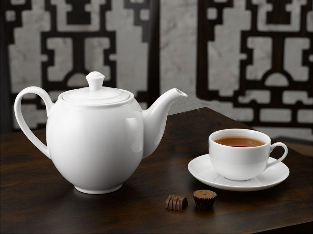 Bộ trà 0.8L Came Trắng 01803800003 Minh Long