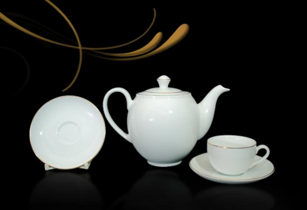 Bộ trà 0.8L Came Chỉ Vàng 01803801403 Minh Long