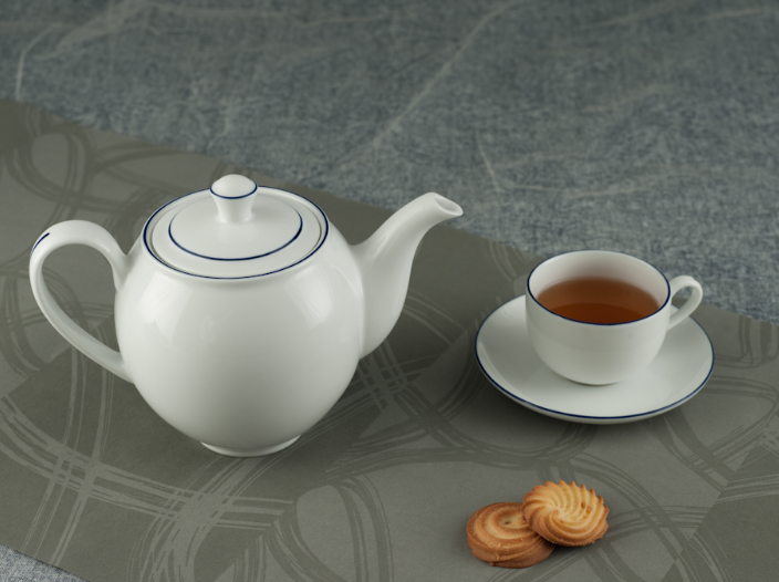 Bộ trà 0.8L Came Chỉ Xanh Dương 01803802103 Minh Long