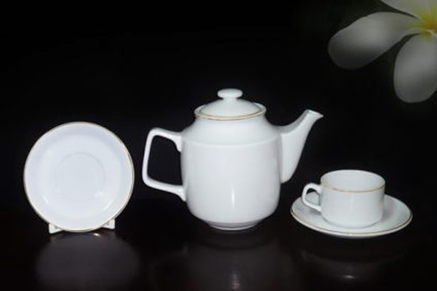 Bộ trà 0.7L Jasmine Chỉ Vàng01111101403 Minh Long