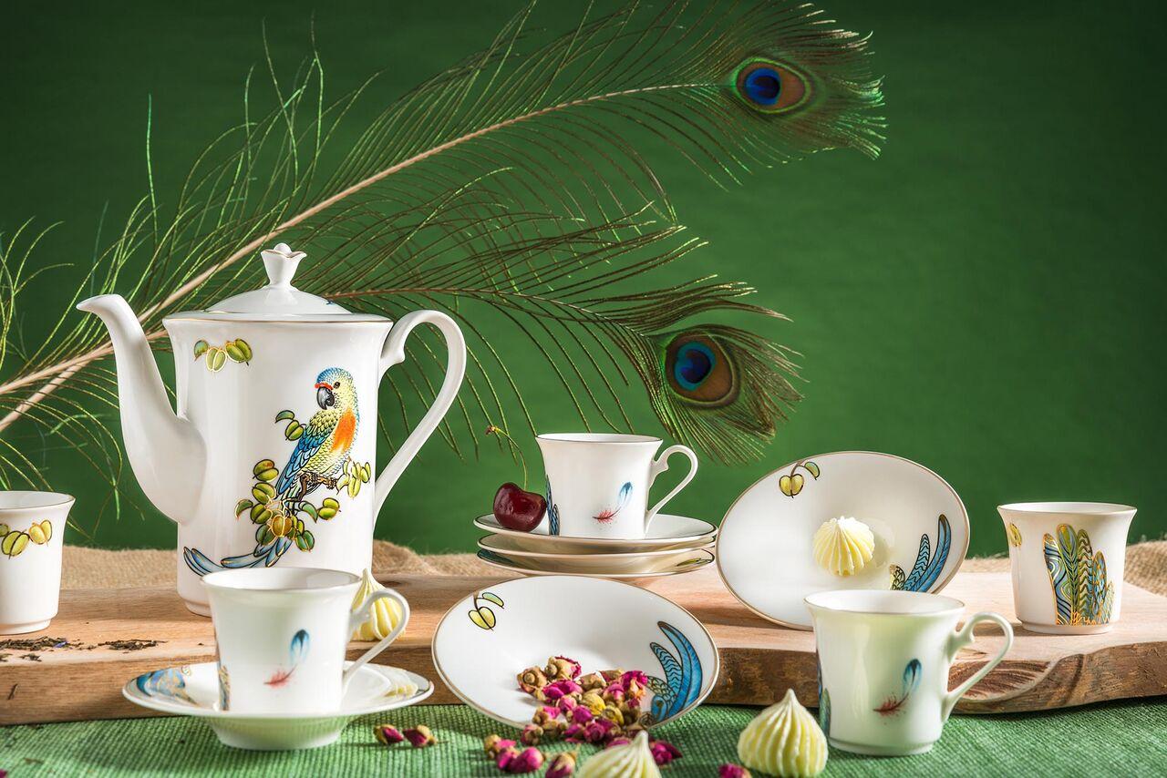 Bộ cà phê 0.8L Tulip Ngà Hoàng Yến 01084330303 Minh Long