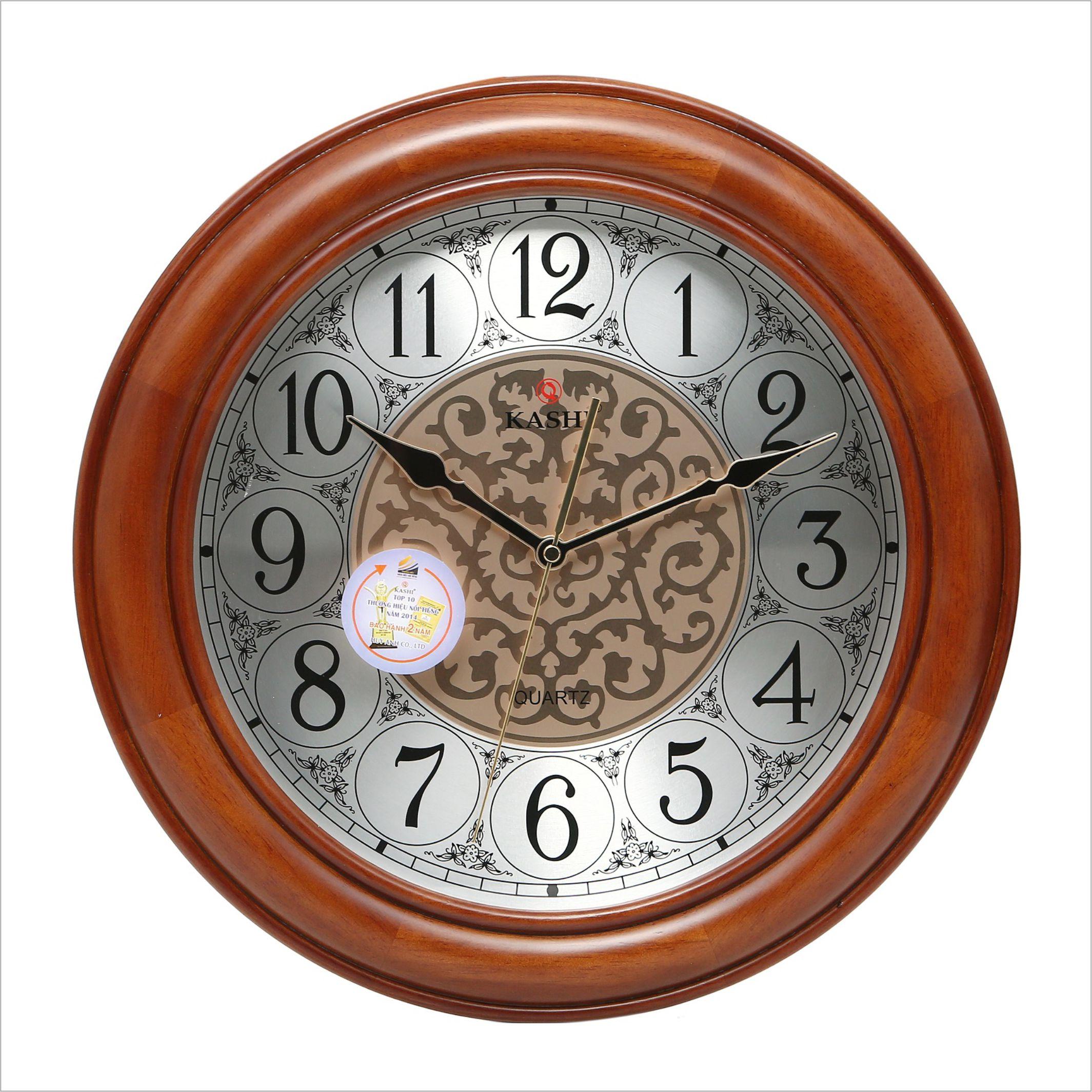 Đồng hồ treo tường DHHM334 số học trò Kashi 41cm