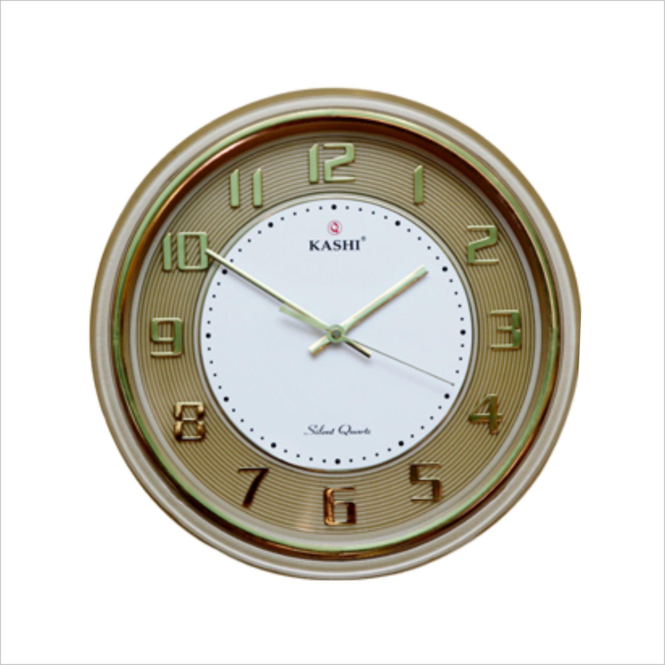 Đồng hồ treo tường DHKN211BL Kashi 35cm