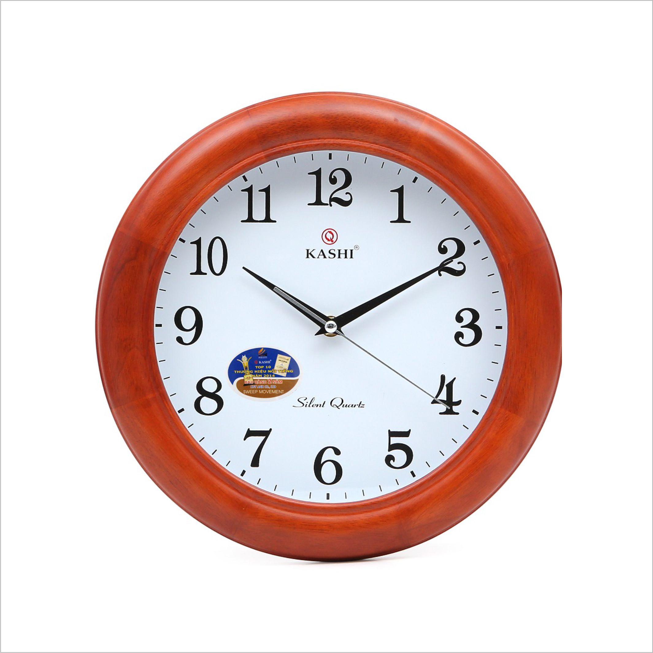 Đồng hồ treo tường DHKN7 Kashi 34cm