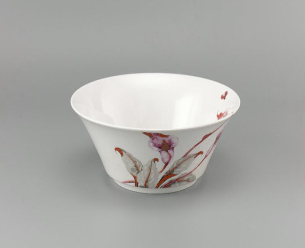 Chén cơm loe 11.5cm Tulip Ngà Loa Kèn Hồng 031129430 Minh Long