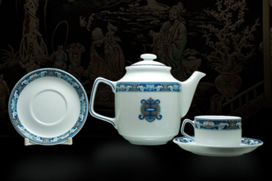 Bộ trà 0.7L Jasmine Phúc Lộc Thọ01071113903 Minh Long
