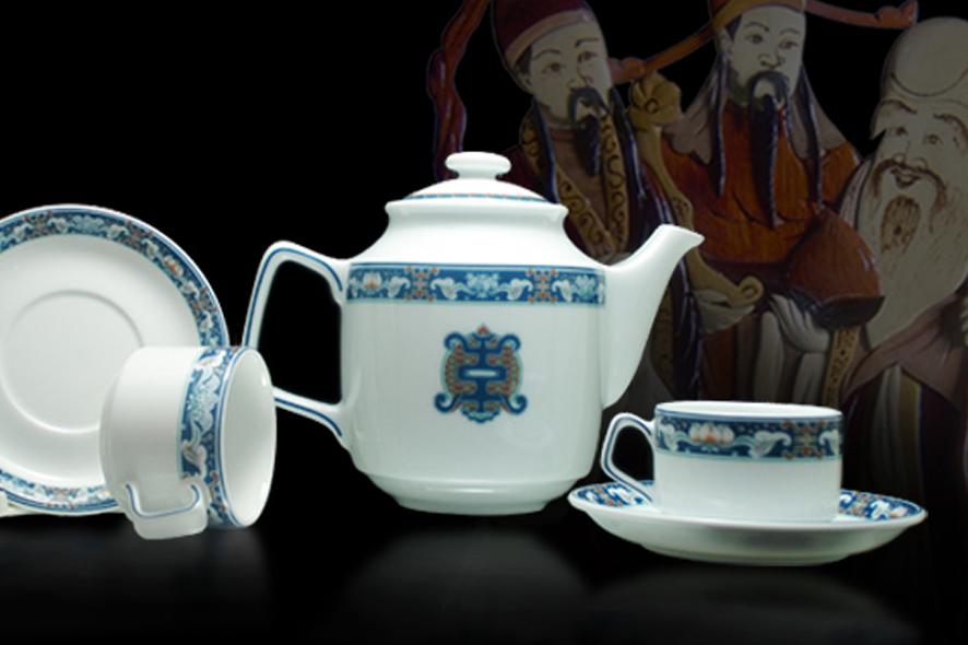 Bộ trà 1.1L Jasmine Phúc Lộc Thọ 01111113903 Minh Long