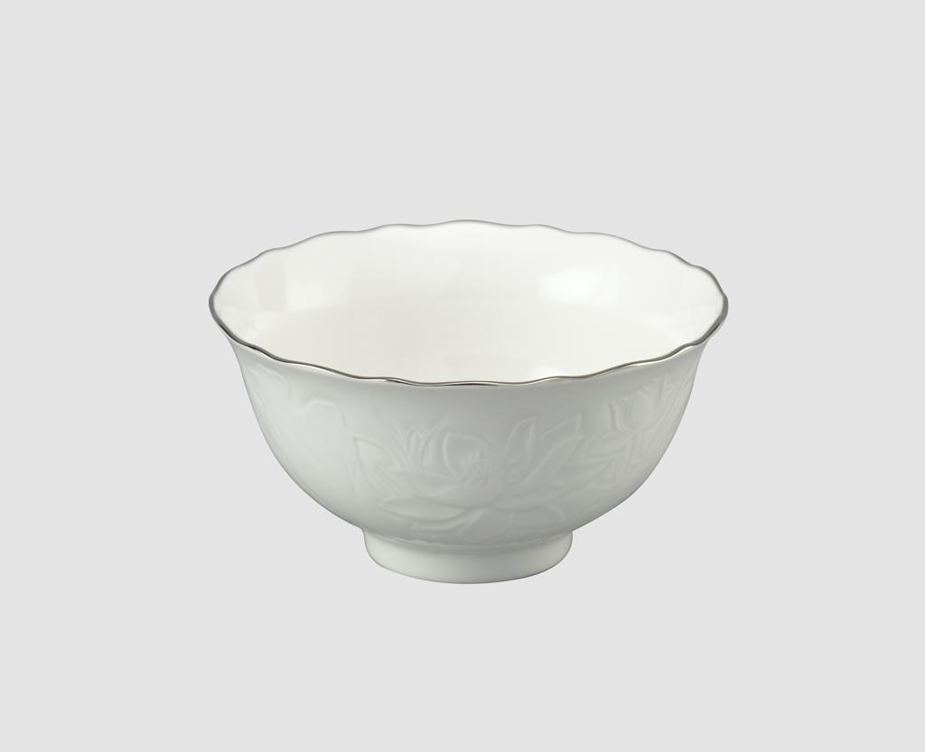 Chén cơm 11.5cm Sen IFP Chỉ Bạch Kim 031196043 Minh Long