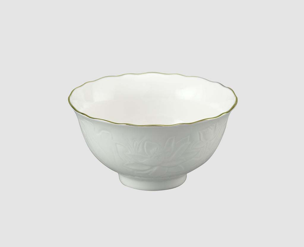 Chén cơm 11.5cm Sen IFP Chỉ Vàng 031196014 Minh Long