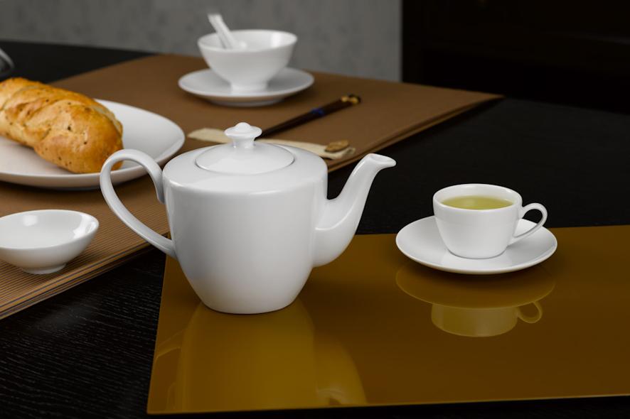 Bộ trà 0.45L Daisy Trắng 01455200003 Minh Long