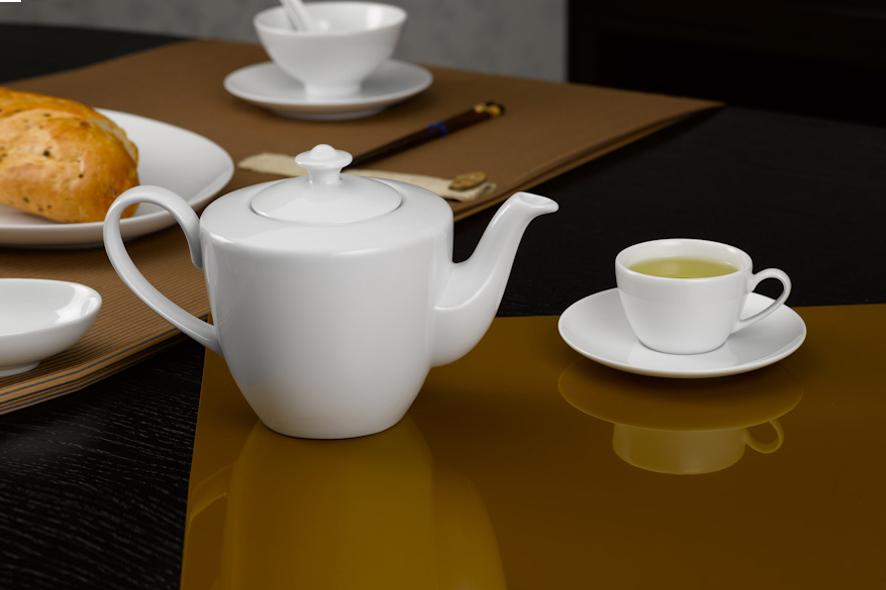 Bộ trà 0.65L Daisy Trắng 01655200003 Minh Long
