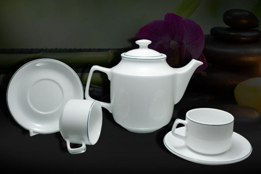 Bộ trà 1.1L Jasmine Chỉ Xanh Lá01111100903 Minh Long