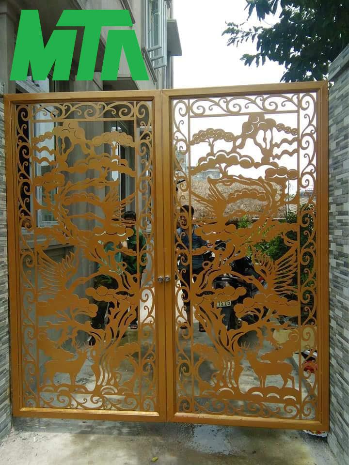 mẫu cổng cnc đẹp