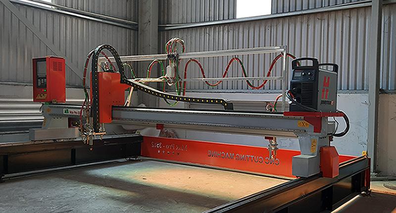 Lắp đặt máy cắt plasma cnc MTA MaxPro-1530 tại Vũng Tàu MTA.VN