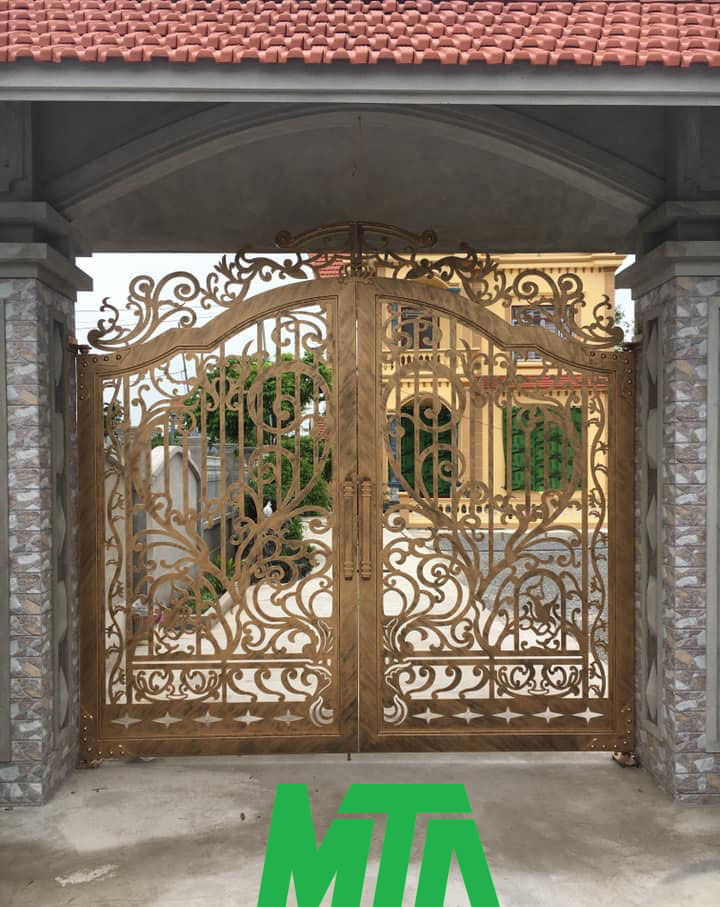 mẫu cổng cnc đẹp nhất