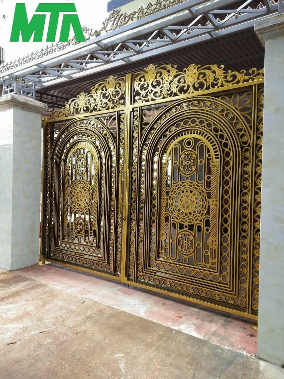 mẫu cổng biệt thự đẹp