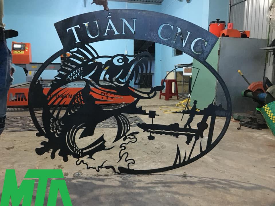 Máy cắt Plasma CNC tại Quảng Nam - chuyên cắt hoa văn sắt nghệ thuật