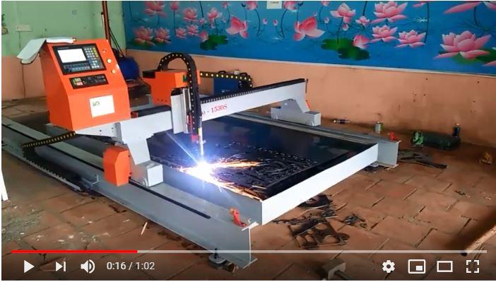 Video Máy cắt plasma cnc MTA-Pro 1530S