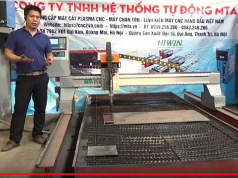 Video Giới thiệu về máy CNC Plasma model MTA pro-1530S