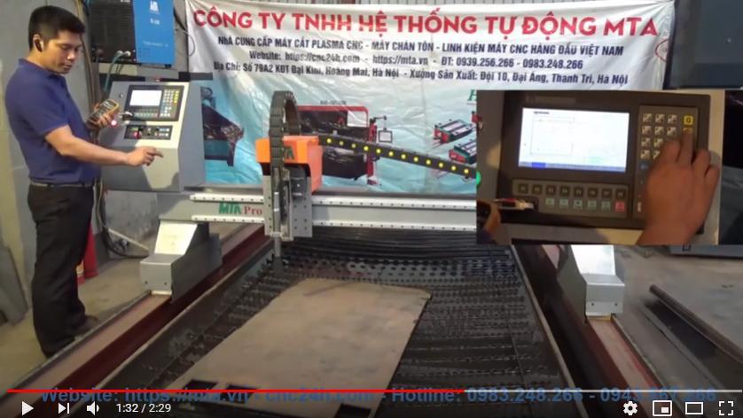 Hướng dẫn chức năng căn phôi tự động máy CNC Plasma