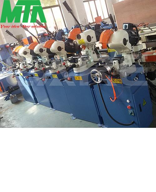 Máy cắt ống hộp kim loại bán tự động MC-275B