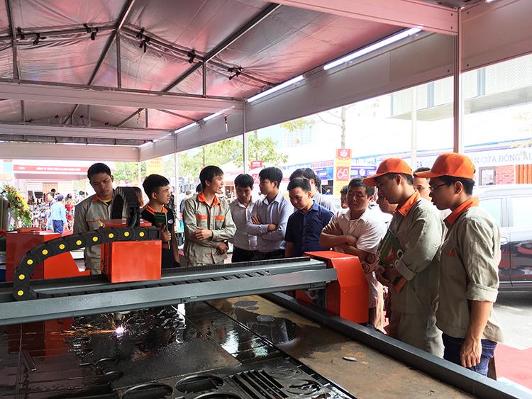 Máy Cắt Plasma CNC Của Công Ty MTA