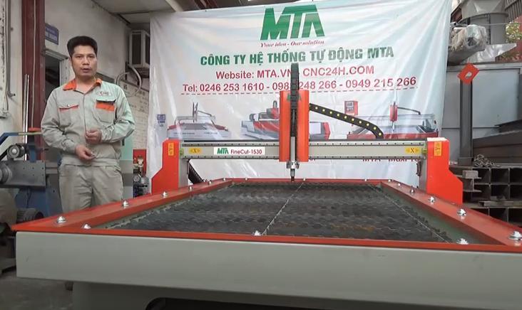 Máy cắt plasma cnc MTA FineCut