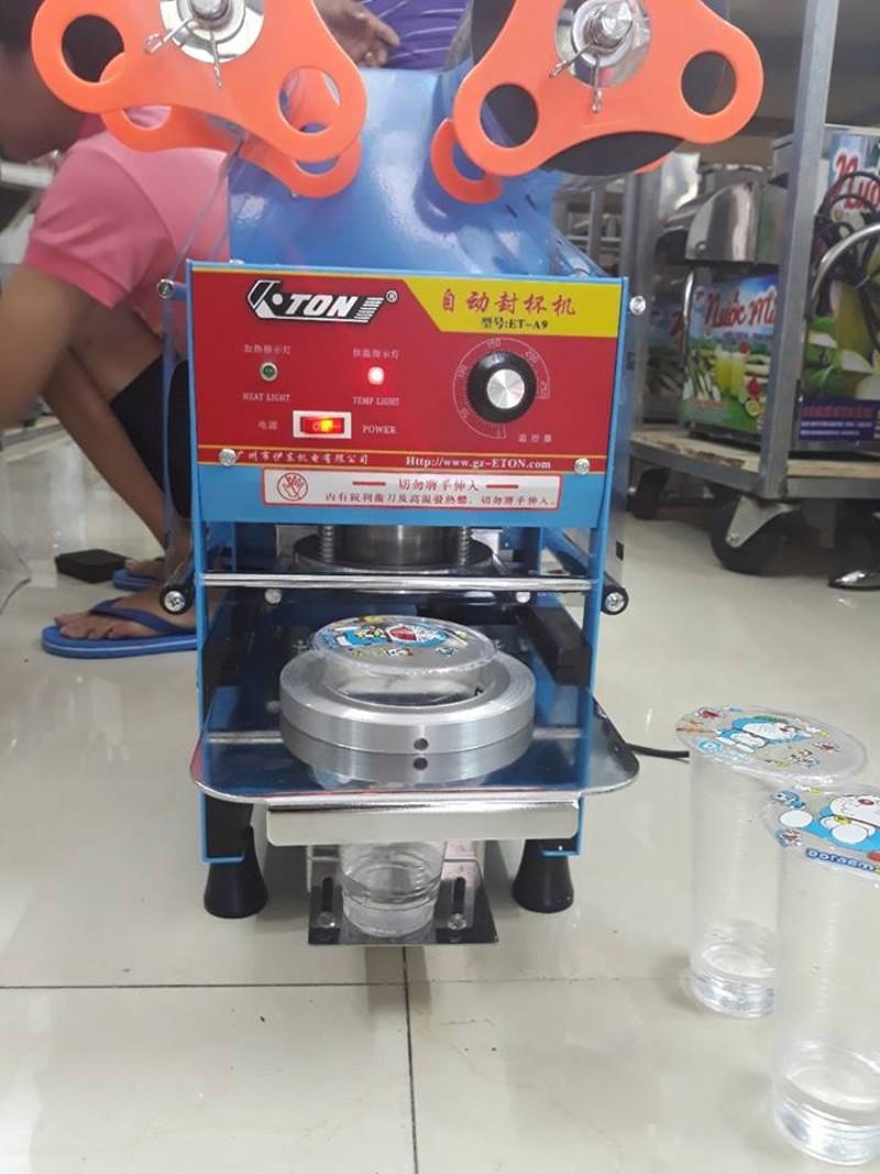 Máy ép miệng ly bán tự động ETON A9