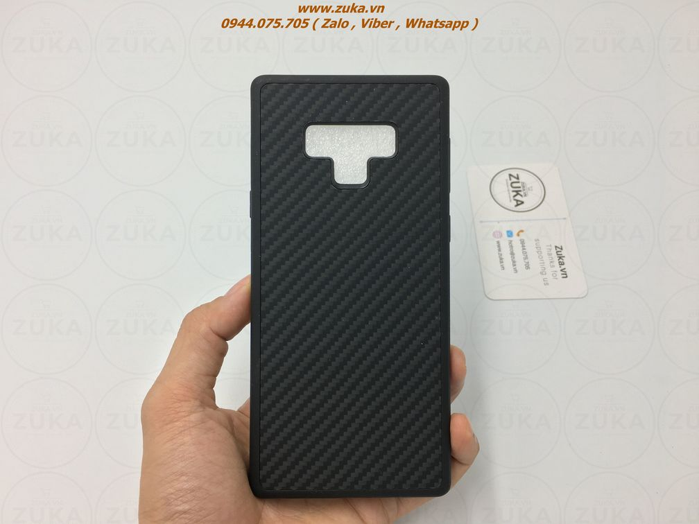 Ốp lưng Galaxy Note 9 Nillkin Carbon