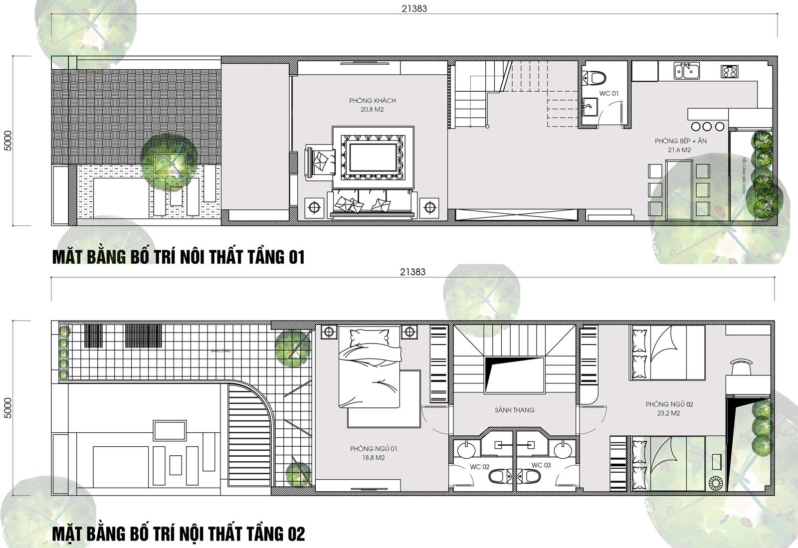 Thiết kế nhà lô phố