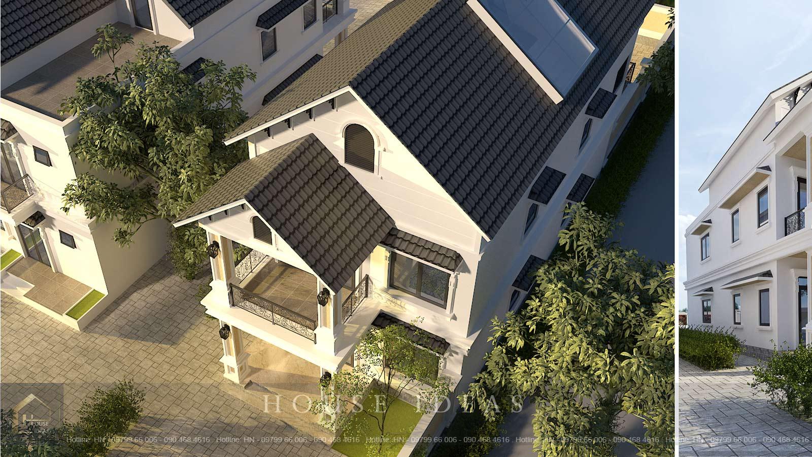 kiến trúc tân cổ nhà lô phố
