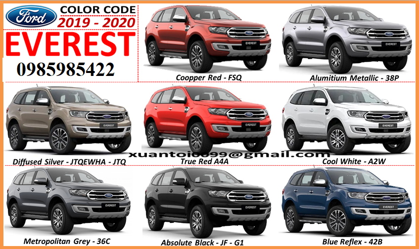code-mau-xe-ford-everest-2016-2020