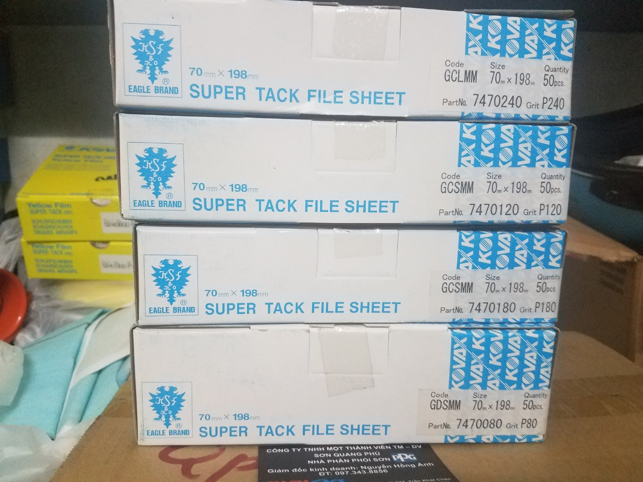 giay-nham-cha-kho-chu-nhat-kovax-premium-super-tack-file-sheet-70x198mm-p80-p120