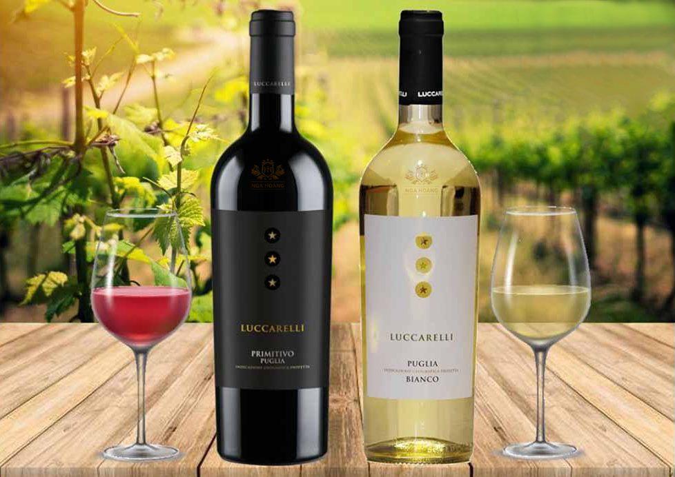 Rượu Vang Ý Luccarelli Negroamaro (VANG ĐỎ)
