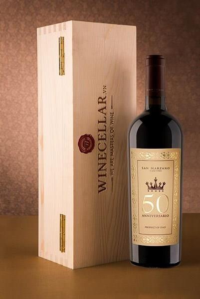 Rượu Vang Ý 50 năm - Cuvee Cinquantenario Anniversario
