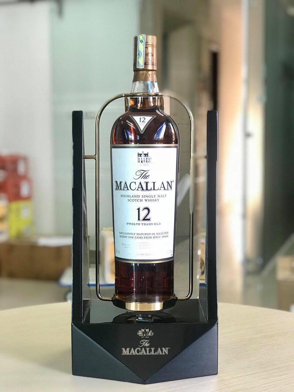 MACALLAN 12SHERRY OAK 1750 ML