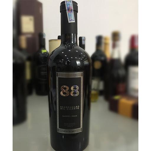 Rượu vang đỏ 88 Negroamaro del Salento (VANG Ý)