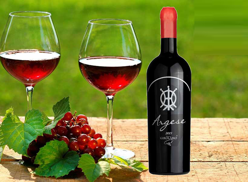 Rượu vang Argese Rosso