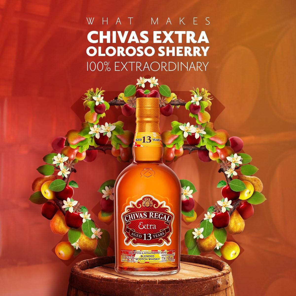 CHIVAS EXTRA 13 KING STREET OLOROSO SHERRY CASK