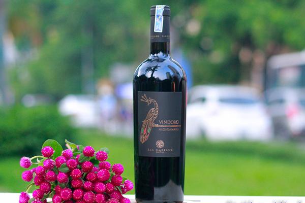 Rượu vang đỏ Vindoro Negroamaro
