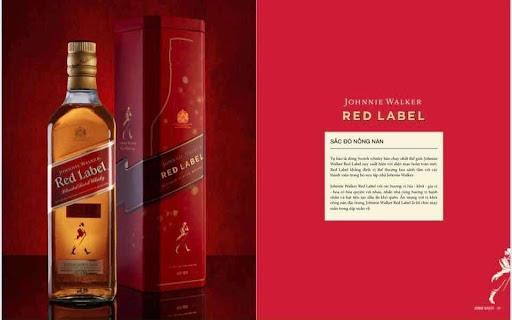 JOHNNIE WALKER RED LABEL - HỘP QUÀ 2021