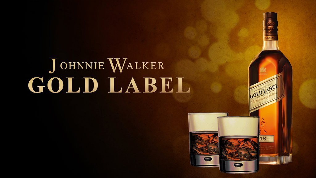 RƯỢU JOHNNIE WALKER GOLD LABEL RESEVER