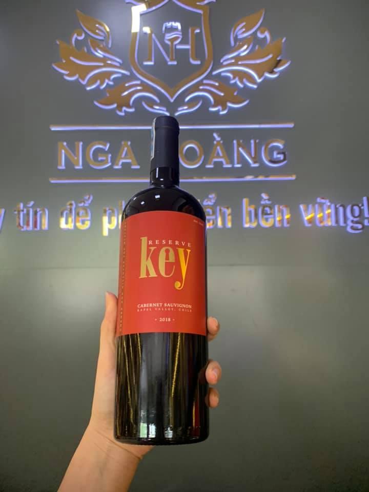Rượu Vang  Key Cabernet Sauvignon (VANG CHILE)