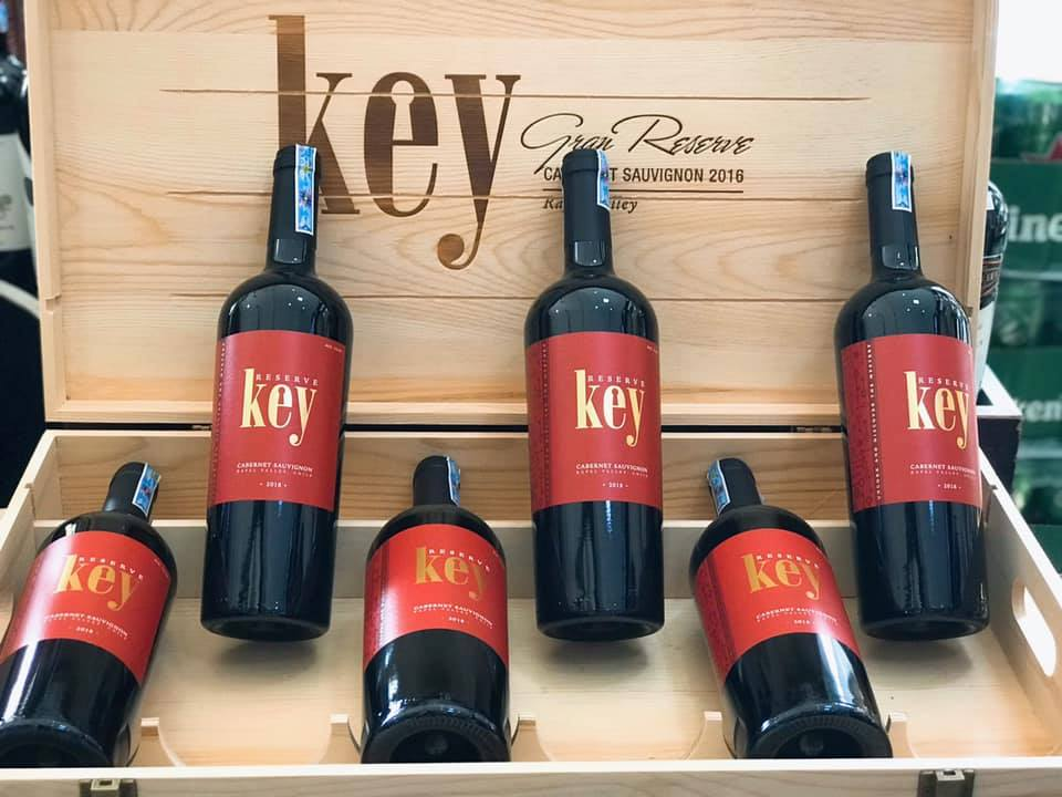 Rượu Vang  Key Reserve Cabernet Sauvignon (VANG CHILE)