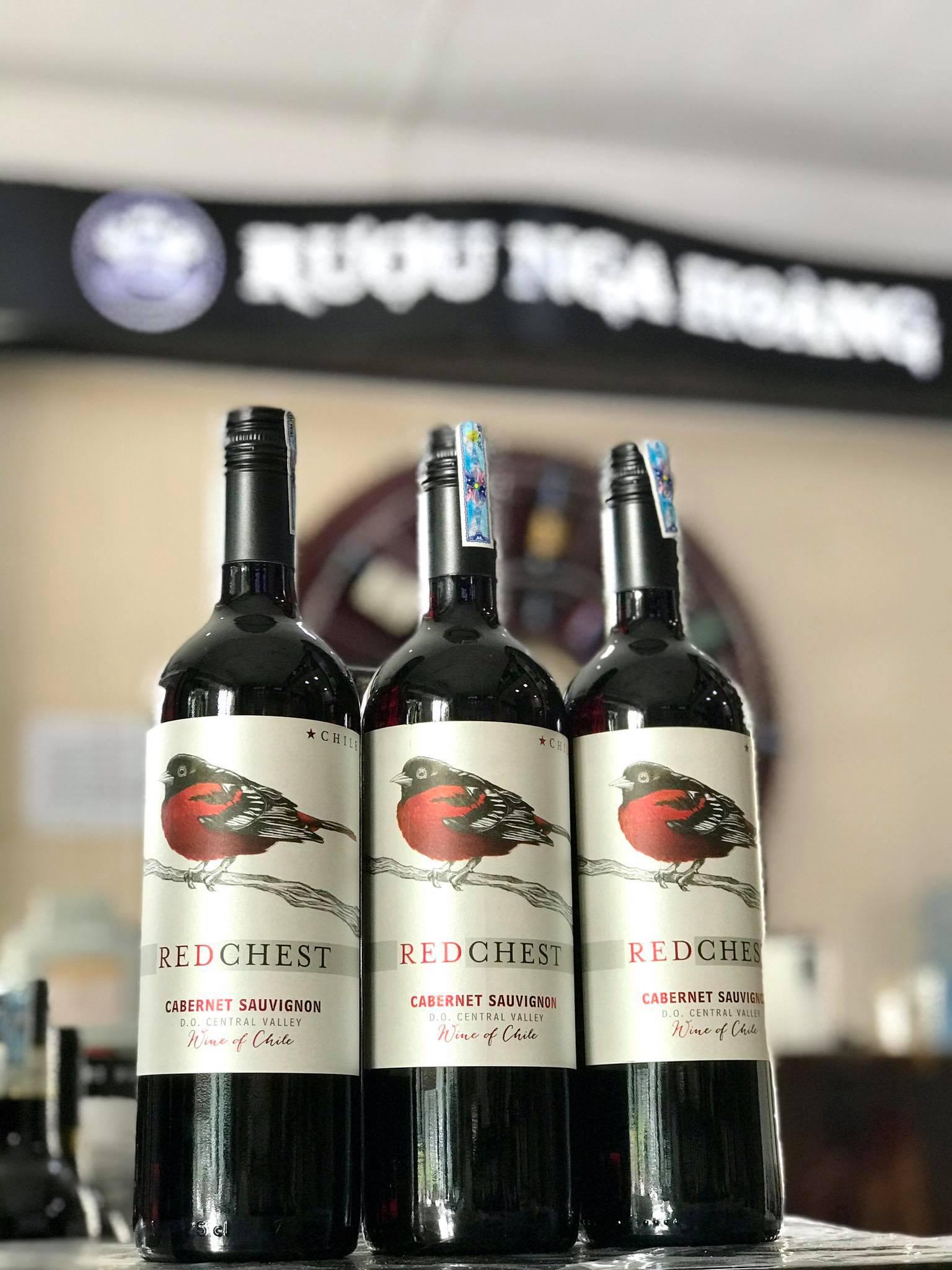 Rượu Vang Đỏ Red Chest Cabernet Sauvignon (VANG CHILE)