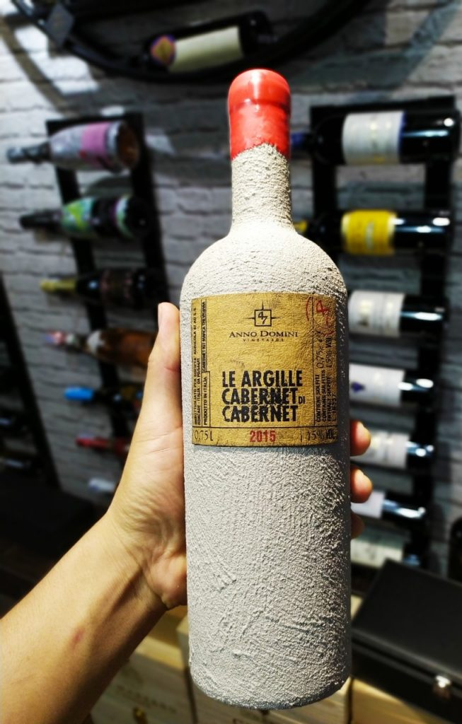 Rượu vang xi măng cao cấp Le Argille Cabernet Di Cabernet (VANG Ý)